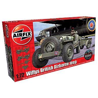 Willys MB Jeep Series 2 sotilaallinen ilmakorjaus mallisarja