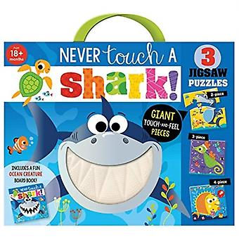 Never Touch a Shark Jigsaw by Rosie Greening