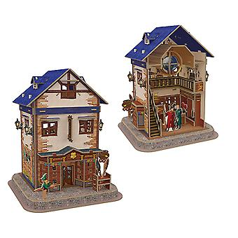 Harry Potter Diagon Alley Quality Quidditch Supplies 3D Model Jigsaw Puzzle
