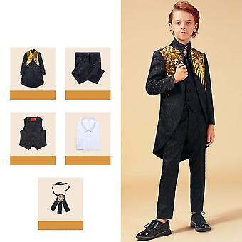 Gold Sequins, Enfant Garcon, Jogging Blazer Suit