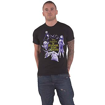 Nightmare Before Christmas T Shirt Christmas Purple Characters New Official