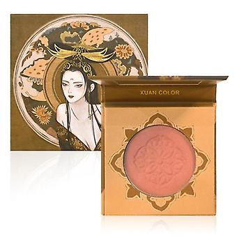 Matte Airy Monochrome Blush Palette Delicate Smooth Enhance Complexion Shimmer Rouge Blush Blush