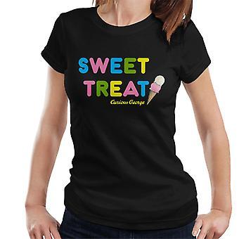 Curiosa maglietta da donna George Sweet Treat