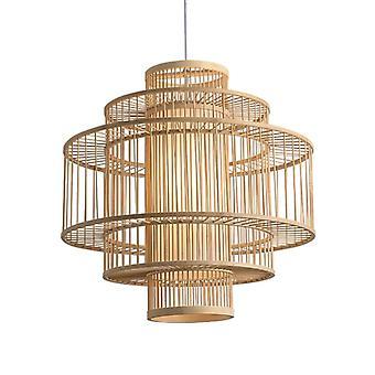 Feine Asianliving Bambus Pendelleuchte Deckenleuchte Lampenschirm Handgefertigt - Leona