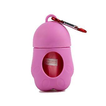 Pet Trash Bag Dispenser Portable Pet Garbage Box