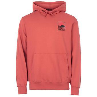 Edwin Sunset On MT Fuji Hooded Sweatshirt - Burnished Sunset
