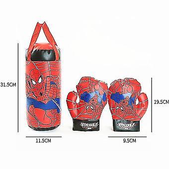 Fitness hračky doplnky Spiderman detské hračky rukavice sandbag športy