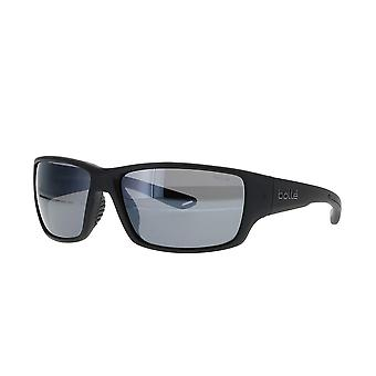 Bolle Kayman 12365 Svarta solglasögon/HD polariserad TNS Gun