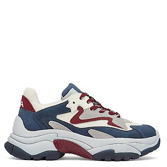 Ash ADDICT Sneakers Blue And Red Suede