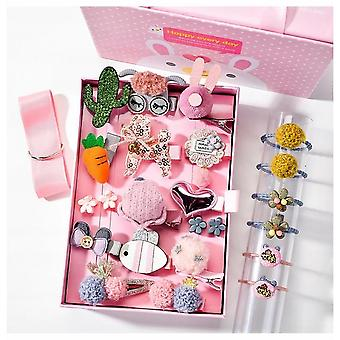 24 Sets Of Cartoon Jewelry Clips