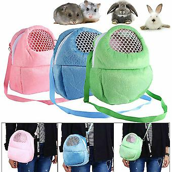 Hamster Chinchilla Portable Travel Backpack Rabbit Cage Warm Cute Bags Guinea Pig Carry Pouch Breathable Bag
