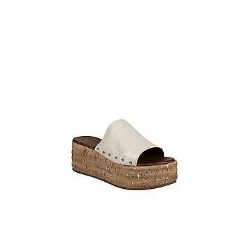 Kurt Geiger   Monica Croc-Embossed Platform Slide Sandals