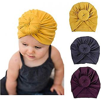 Pack Of 3 African Turban For Women Soft Pre-tied Knot