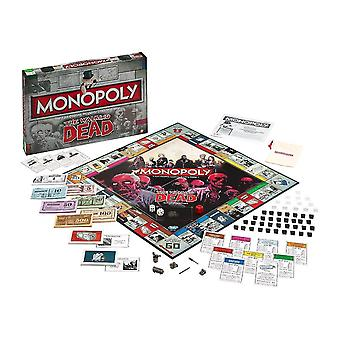 Tile games the walking dead monopoly game