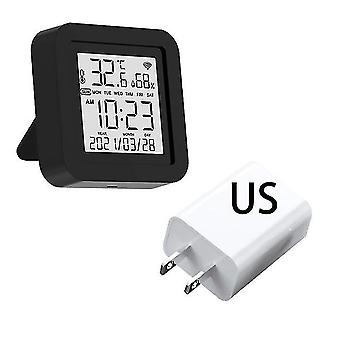 Tuya Wifi Smart IR Fernbedienung mit Temperatur Feuchtigkeit Sensor Datum Anzeige für Klimaanlage TV AC