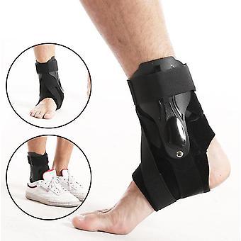 Fotled stöd, justerbar fotled ortos andas nylon material