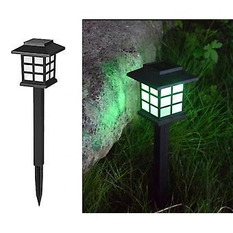 4pcs Solar Lawn Lamp Solar Lawn Lamp Outdoor Waterproof Led Lawn Light Garden Garden Ground Socket Street Light  4pcs  Colorful Light