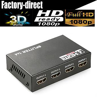 Hdmi Splitter 1x4 Full Hd 1080p Vidéo Hdmi Switch Switch SwitchEr Amplificateur