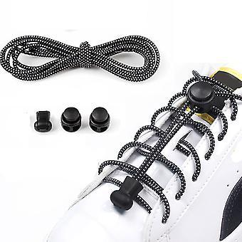 5 pár rugalmas cipőfűző, állítható cipőfűző nyakkendő nélkül,3 Szín