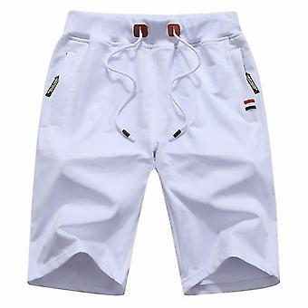 Summer Casual Cotton Breeches Bermudas Homme Shortss