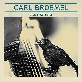 Carl Broemel - All Birds Say [CD] USA import