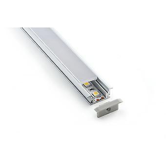 Teucer LED Al1i încastrat/Inset superficial LED bandă profile