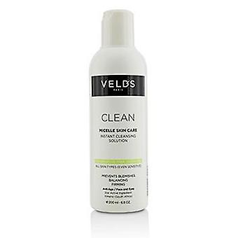 Veld's Clean Micelle Skin Care Instant Cleansing Solution - All Skin Types (even Sensitive) - 200ml/6.8oz