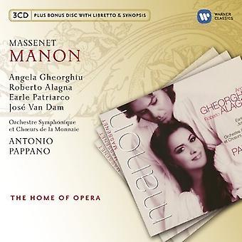 Massenet / Pappano / Gheorghiu / Van Dam - Manon [CD] USA import