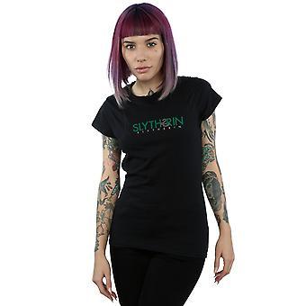 Harry Slytherin texto t-shirt Potter mujeres