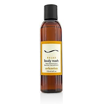 Erbaviva Relax Body Wash - 175ml/6oz