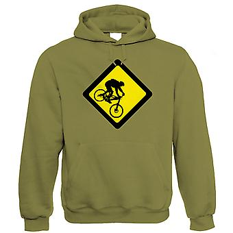Downhill Mountainbike, Hoodie MTB Singletrack Bike Park Geschenk für ihn Papa