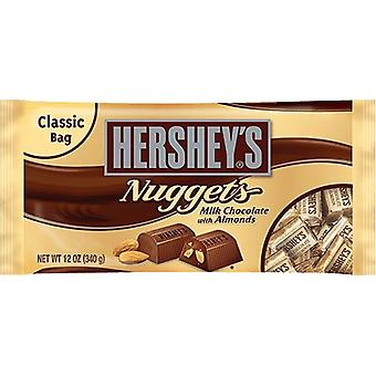 Hershey's Nuggets maito suklaata manteleita