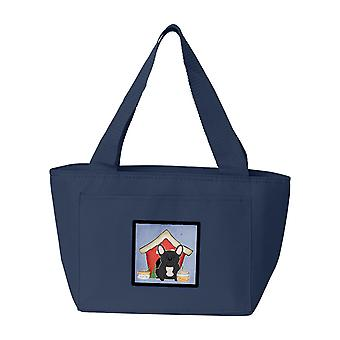 Dog House Collection French Bulldog Black Lunch Bag