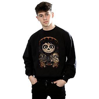 Disney mannen Coco Miguel Face Poster Sweatshirt