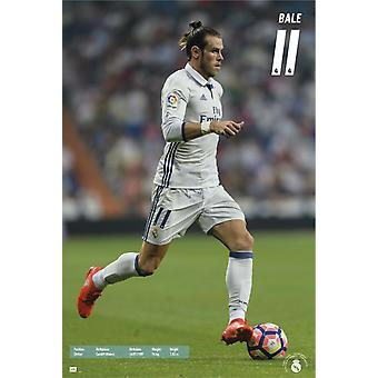 Real Madrid 2016-2017 Bale Action Poster Poster Print