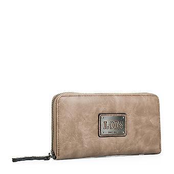 Femme fermeture à glissière compartiments du titulaire du portefeuille porte-monnaie pour cartes et documentation. Simili cuir - simili cuir. 92701