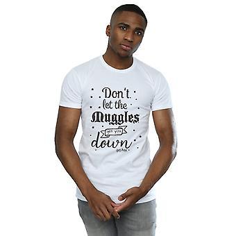 Harry Potter mænds Lad Mugglere T-Shirt