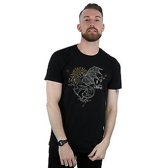Harry Potter mäns Thestral Line Art T-Shirt
