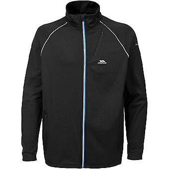 Trespass Mens Clive Long Sleeve Full Zip Quick Dry Active Top