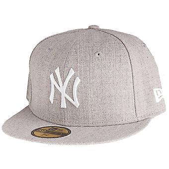Ny era 59Fifty keps - HEATHER New York Yankees grå