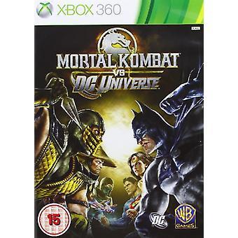 Mortal Kombat Vs DC Universe (Xbox 360) - Fabrik versiegelt