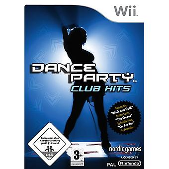 Dance Party Club Hits (Nintendo Wii) - As New