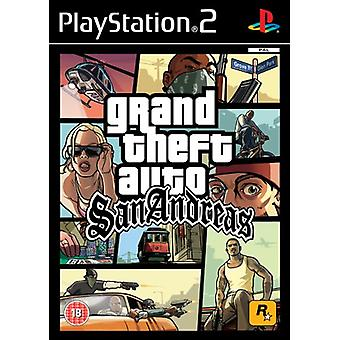 Grand Theft Auto San Andreas (PS2)-fabriks forseglet