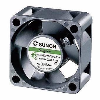 Sunon MB40201V3-0000-A99 axiale ventilator 12 V DC 10,7 m³/h (L x b x H) 40 x 40 x 20 mm