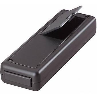 Strapubox 6094 Hand-held casing 135 x 44 x 24 Acrylonitrile butadiene styrene Black 1 pc(s)