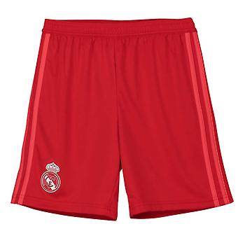2018-2019 real Madrid Adidas tredje Shorts (Red) - barn