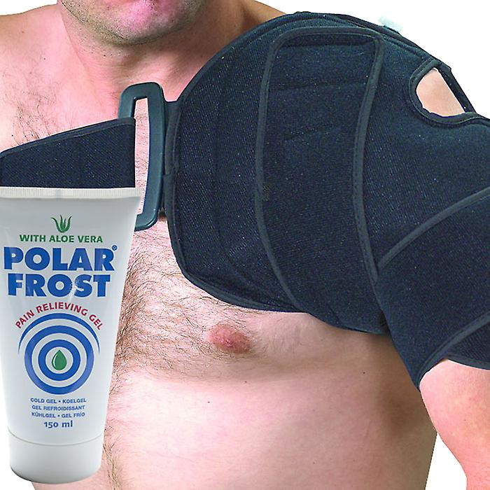 Med-Fit - koude compressie schouder Cuff - Cryo therapie letsel Ice Pack