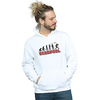 Marvel Men's Deadpool Evolution Hoodie