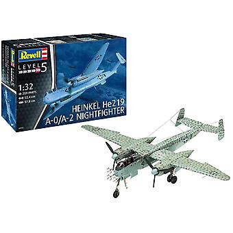Revell 03928 Heinkel He219 A-0/A-2 Nightfighter Model Kit- Scale 1:32