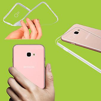 For Samsung Galaxy J6 pluss J610F Silikoncase transparent pose coveret nye